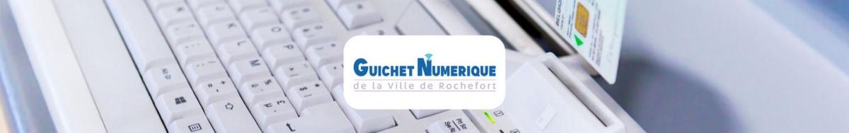 illustration e-guichet (guichet citoyen et démarches en ligne) de la commune de Rochefort